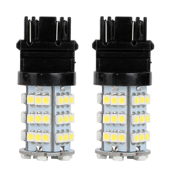 10Pcs LED Car Light Bulb 3157 54Smd 3528 12V White LED Bulb DRL Daytime Running Turn Signals Backup Reverse Light Universal LED Lamp