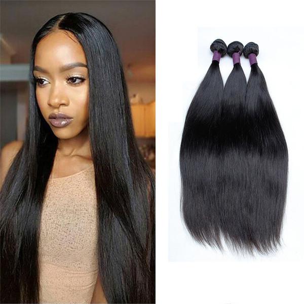 Peruvian Straight Virgin Human Hair Remy Hair Extensions Cheap Unprocessed Brazilian Malaysian Peruvian Hair Weave Bundles Hot Selling Items