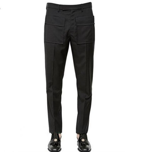 Men's in front of the spring fashion the new trend of cultivate one's morality personality over nine minutes of pants / custom