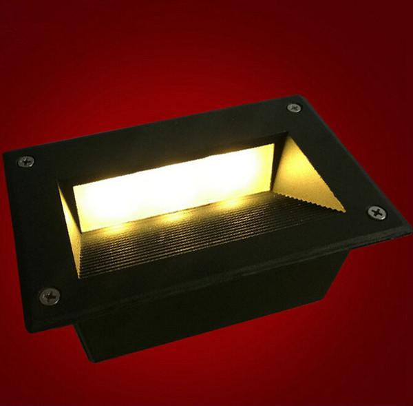 Vente chaude 3 * 3W Led encastré encastré lampadaire Étanche IP65 extérieur Paysage éclairage escalier 9W LED lampes souterraines AC85-265V