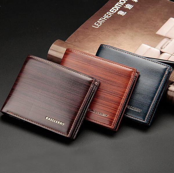 WholeTide Brand Men Bags Business Leisure Trees Tattooed Man Purse Joker Short Trees Han Edition Men Wallet The Stylish Leather Wallet