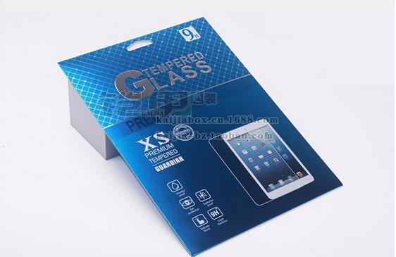 100pcs / lot heißer Verkauf 284 * 203 Millimeter retail ipad Luft 10 Zoll verpackenkasten für ausgeglichenes Glas-Schirm-Schutz ipad air2 freies DHL
