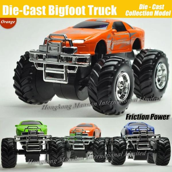 Diecast Alloy Metal Bigfoot Car 1:32 Escala Modelo Colección Crosscountry Big Wheel Monster Truck Friction Power Toys Car