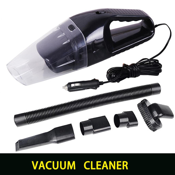 top popular Portable car vacuum cleaner wet and dry dual use with power 120W 12V 5 meters of cable, superabsorb car waste, freeshipping 2019