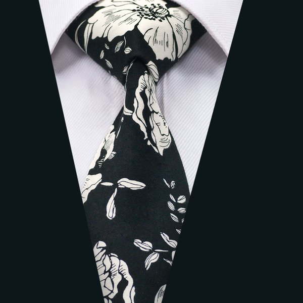 Free Shipping Ties Classic Silk Men Ties Floral Cutton Mens Necktie with High Quality for Business Wedding Party Gift D-1317