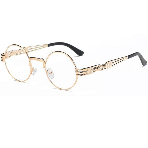 C5 Gold Frame Clear Lens