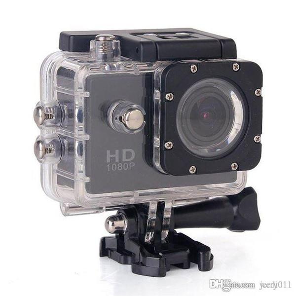 Cámara de acción 12MP Sports Cam 1080P Full HD DVR Diving 30M Waterproof Extreme Helmet DV Mini Videocámaras 1.5