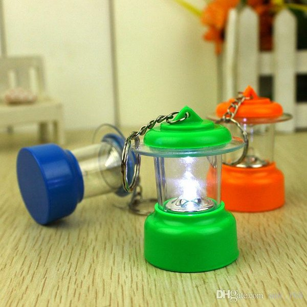 free shipping whilesale The new small lantern keychain novelty toys for children creative gift bag pendant jewelry