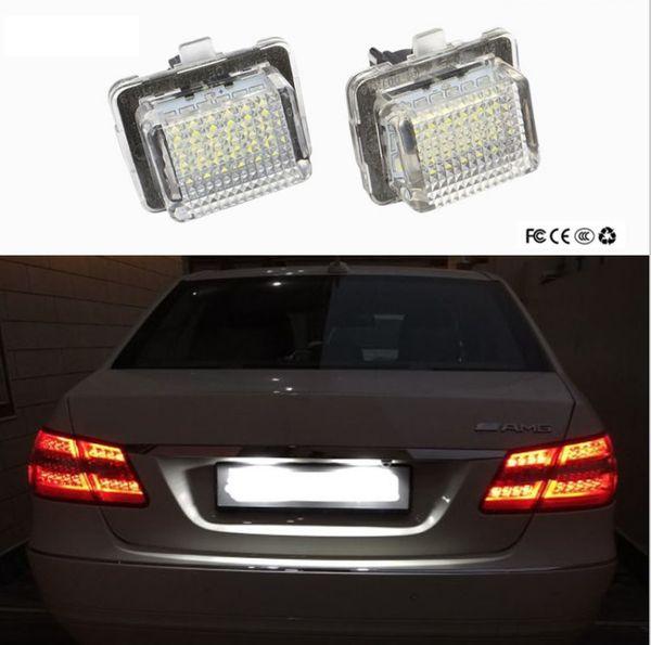 DEL plaque d/'immatriculation éclairage Mercedes Sprinter à partir de 2006-Lumière Couleur Blanc