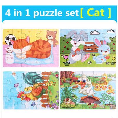 Color:4 in 1 Cat