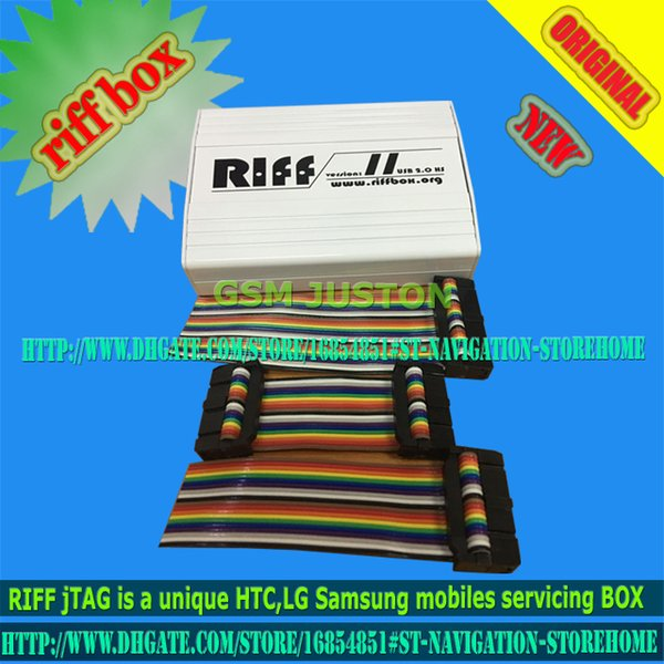 2016 Riff Box - Best Jtag For HTC,SAMSUNG,Huawei Unlock&Flash&Repair With 2 pcs flat cables