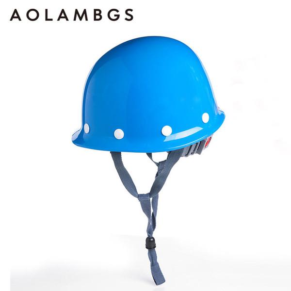 Schutzhelm Bau Kopfschutz Schutzhelm Arbeitskappe Industrial Engineering Arbeitskleidung Stoßfest ABS Material