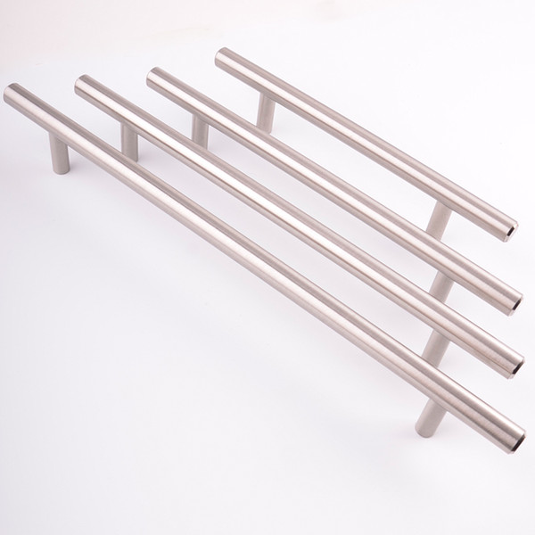 Modern Satinless Steel T bar home Office Furniture Accessories closet cupboard dresser Kitchen Cabinet Door Drawer wardrobe iron pull handle
