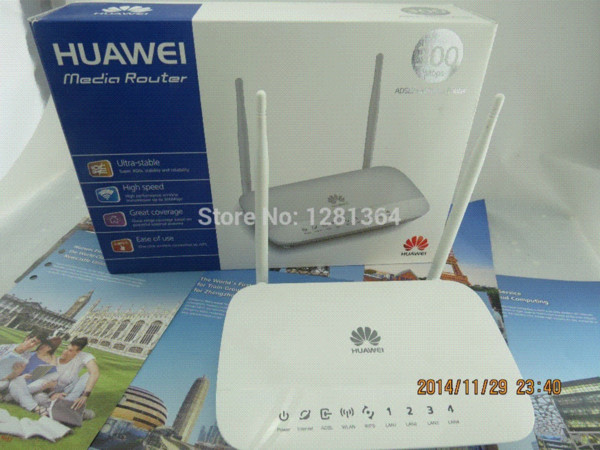 High Quality Huawei HG532D 300M Router Repeater Wifi Router Networking ADSL  Modem Modem Adsl Wifi Orange Router 3g Router 3g Wifi From Kingeer,