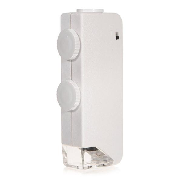 Mini 160X Handheld all'ingrosso di alta qualità - 200X Zoom LED illuminato per Pocket microscopio della lente di ingrandimento Nuovo arrivo