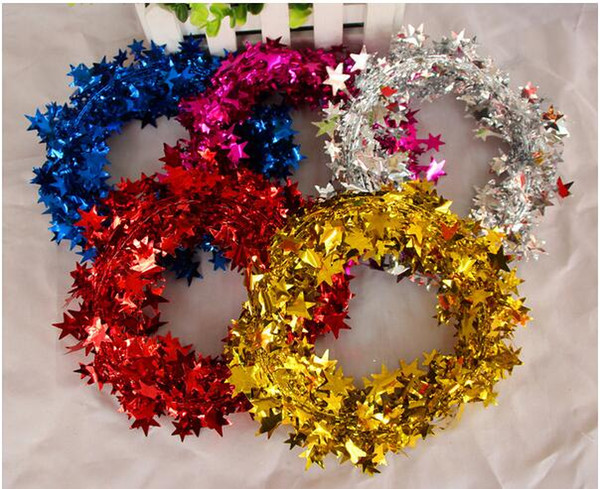 diy christmas tree wreath christmas decoration star garland hangings