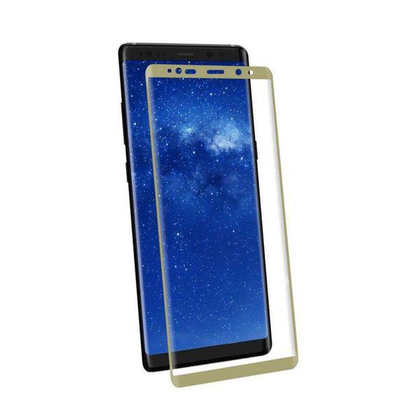 Samsung Galaxy Not 8 için Tam Boyut Mobil 3D Kavisli Kenar Sertleştirilmiş Not 8 için Tam Koruyucu Kapak Filmi