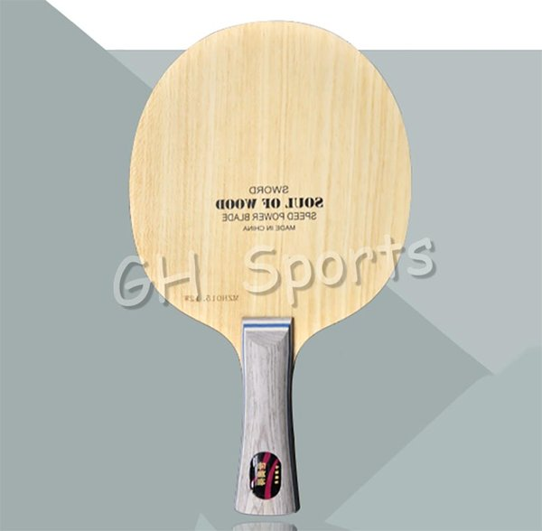 2018 Wholesale Sword Soul Of Wood Table Tennis Blade For Pingpong Racket  From Hupiju, $195 16 | Dhgate Com