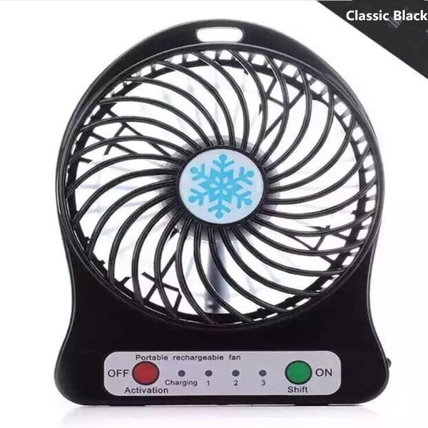 Mini Protable Fan Black
