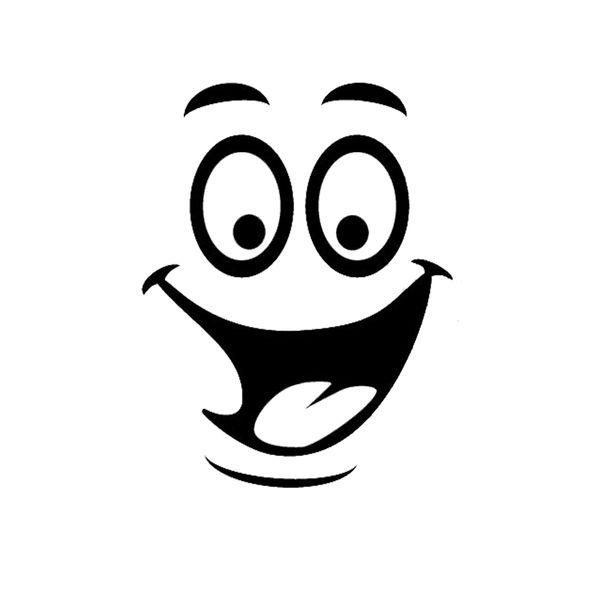 Top Verkauf Smiley Face Funny WC Badezimmer Aufkleber Sitz  Dekor Entfernbare DIY Wand