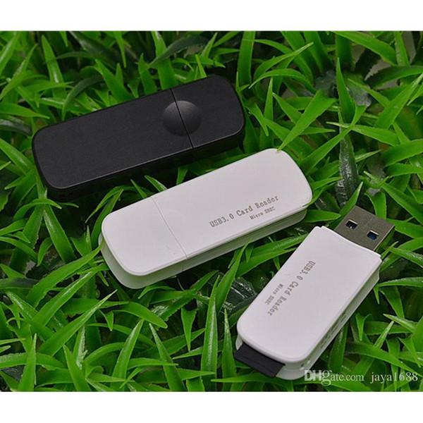 2 in 1 USB 3.0 SDHC SDXC Micro SD Card Reader SD MicroSD TF Trans-flash card TF Adapter Converter