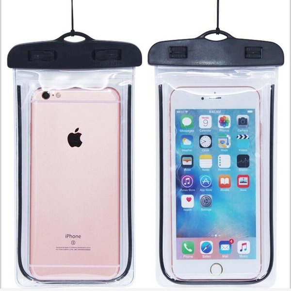 waterproof phone case black