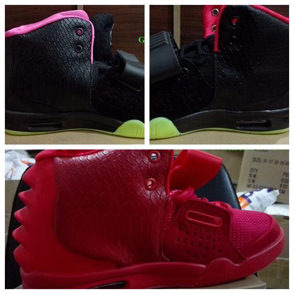 2016 Erkekler Womens Kırmızı Ekim Batı II Spor Ayakkabı. Yetişkin Marka Siyah Güneş Kırmızı Kurt Gri Saf Platin Eğitmen Sneaker 36-47