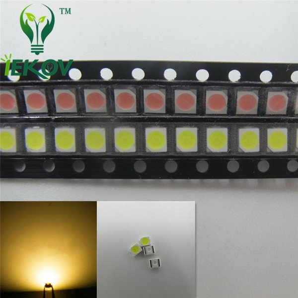 5000pcs/Lot PLCC-2 Warm White LED 1210 3528 SMD Ultra Bright Light Emitting diodes 3.0-3.2V 2800-3500K SMD/SMT Chip lamp beads