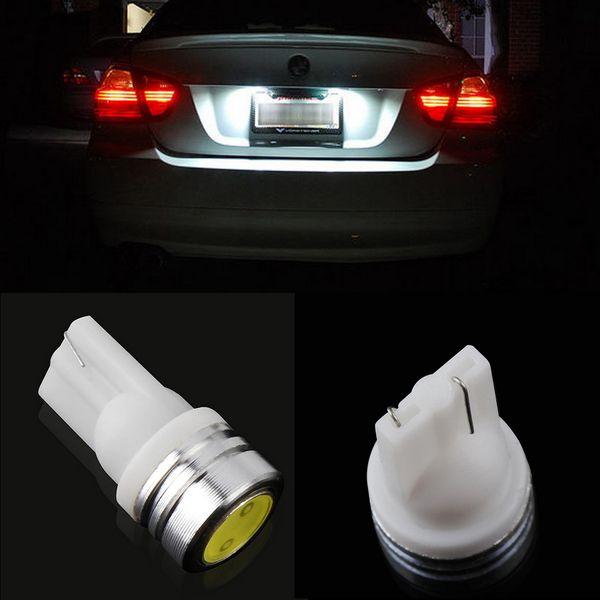 best selling Universal 1W 2X T10 Xenon LED Side Wedge Tail Light Bulb 2825 194 168 W5W auto car led lamp corner parking light ~
