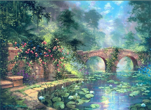 James Coleman In hasa , Genuine Handpainted Landscape Art oil Painting On Canvas for home decor Museum Quality