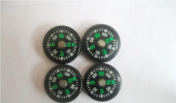 best selling 20mm Diameter Button Mini Compass Plastic Mini Button Size Compass Pocket Compass