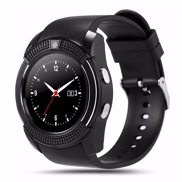 V8 Smartwatch Bluetooth Smart Watch With Camera SIM TF Card 8 Colors for iPhone Android Cell Phone