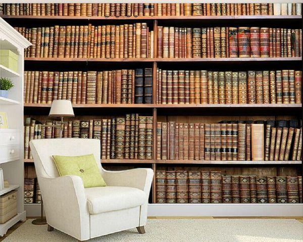 3d Photo Wallpaper Custom 3d Wall Murals Wallpaper Mural Classical Bookshelf Art Tv Backdrop 3d Living Room Wall Decor Uk 2019 From Andyzhu1990 Gbp