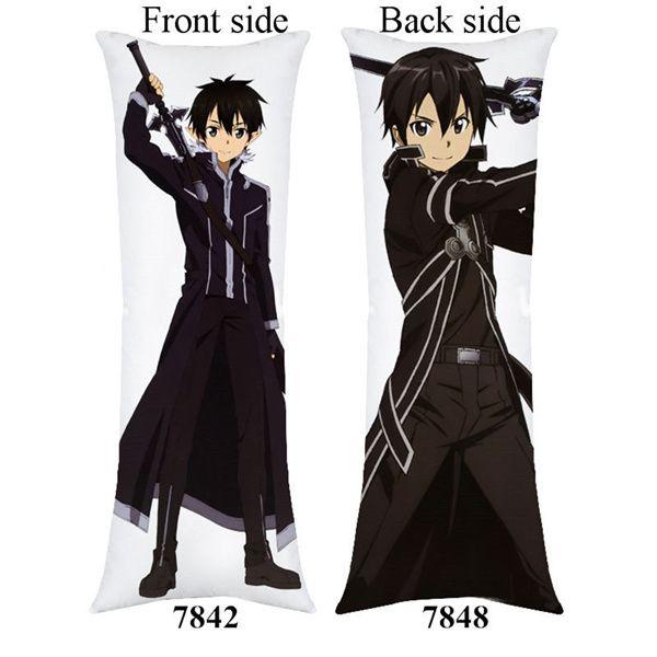 Anime Sword Art Online Hugging Body Cushion Dakimakura Cover Pillow Case Gift 25