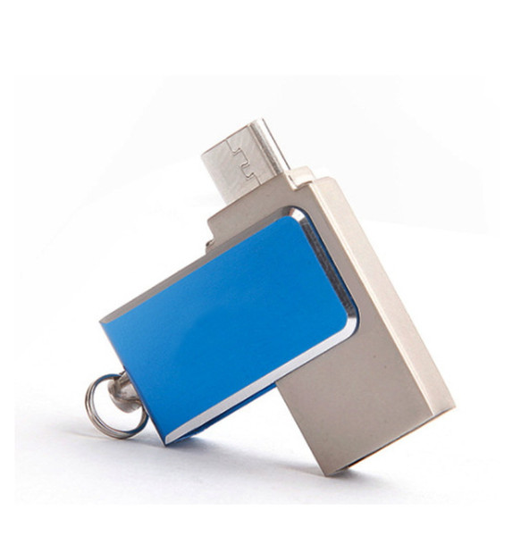 Fashion OTG USB Flash Drives 16GB Thumb Pendrive 8GB USB Disk 32GB USB Creativo Memory Stick