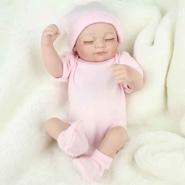 Free Shipping Hot Sell New Deign Reborn Baby Doll Fronzen Princess Girl's Great Present Soft Silicone Vinyl Doll