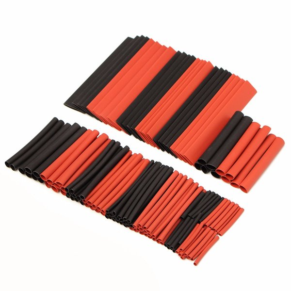 150 PCS Halogen-Free 2:1 Heat Shrink Tubing Wire Cable Sleeving Wrap Wire Set