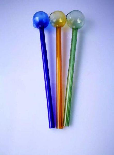 Завод прямые высокого качества цвет стекла прямой горшок 15 см, цвет случайная доставка, оптовые аксессуары для стеклянных кальянов, стеклянные бонги