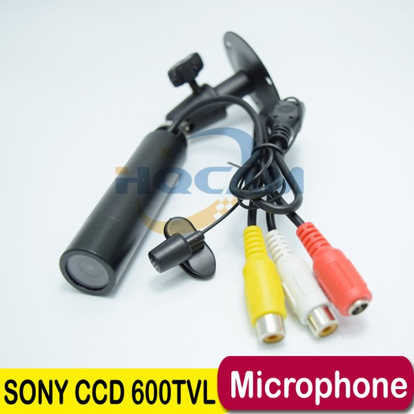 Support Microphone Best Price Genuine Sony CCD 600TVL Waterproof Micro Video Surveillance Small Mini Bullet Camera Security CCTV Camera