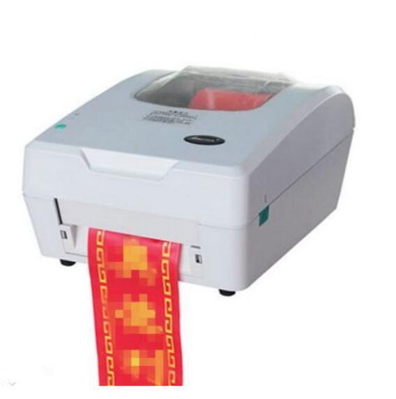 máquina de impressão da fita do cetim para a produção personalizada