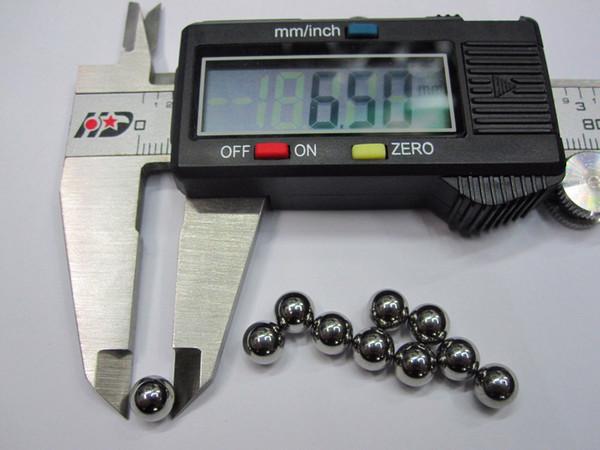 6.5MM Chromstahl Kugellager Ball Stahlkugel Durchmesser 6.5 mm 10pcs / set Precision: G10-Grade