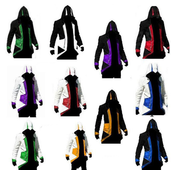 fulary_b / Assassins Creed 3 III Conner Kenway Hoodie Mantel Jacke Assassins Creed Assassins Kostüm Connor Cosplay Mantel
