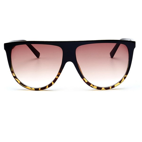 Leopard Frame Gradient Brown