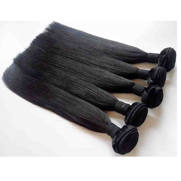 Brazilian human Hair extensions Malaysian Peruvian Top Quality Unrocessed Indian remy human hair 7A Best Selling 3 4 5pcs lot straight Hair