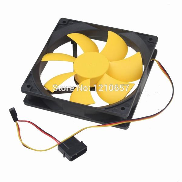 도매 - 1Pieces 유압 무음 케이스 팬 조용한 컴퓨터 PC 냉각 120mm 12cm 120x25mm