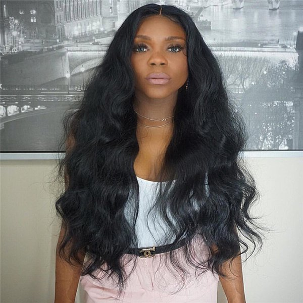 Glueless Human Lace Front Wigs With Baby Hair Full Lace Wigs For Black Women Unprocessed 100% Indian Human Lace Wigs