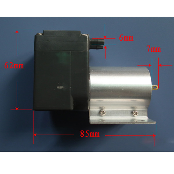 Pompe à membrane d'aspiration d'aspiration de petit aspirateur de micro-pompe DC24V