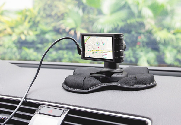 Car Holder GPS Dashboard Mount, Portable Friction Mount for Garmin 700/600/300/200 Series and for New Nuvi Series