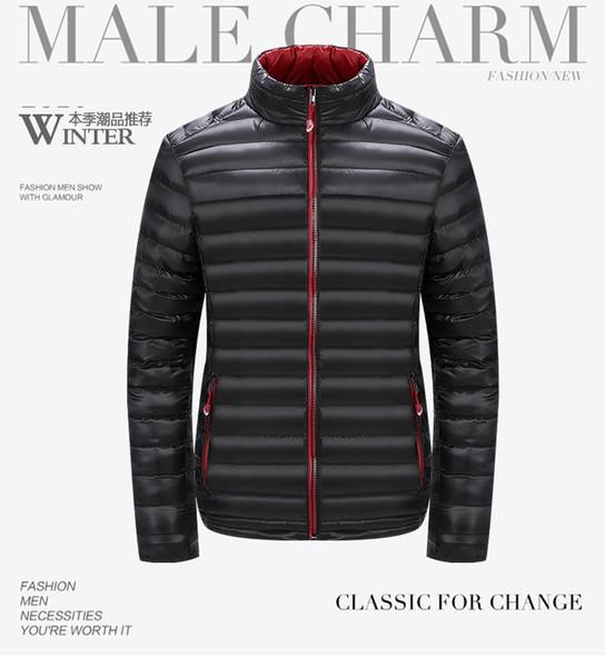 2017 Für Warme Daunenjacke Herbst Blueberry12 Jacken Plus Größe Qualität 4xl Winter Mäntel Ankunft Großhandel L Neue Männer Beste Marke Mann Von D29IeEHWYb