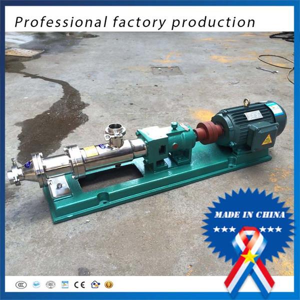 best selling G10-0.35kw Stainless steel pump thick mud pump sludge pump liquid feed screw conveyor